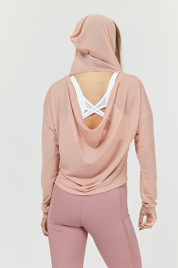 Active cozy Shirt in light Pink