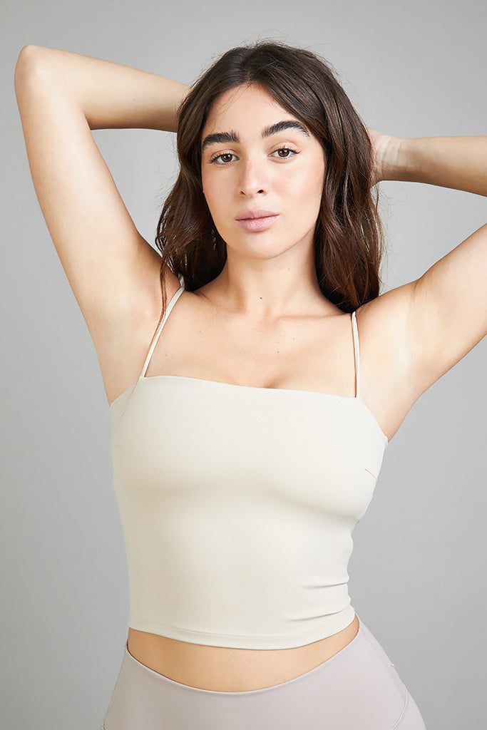 Active Sonora square top in Nude