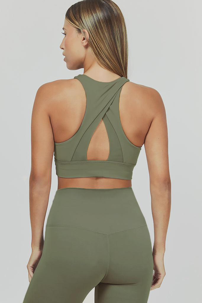 Active sahara pyramid in olive (set)