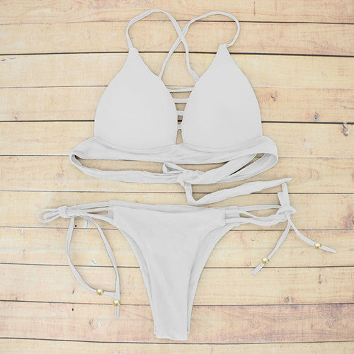 Crisscross Push Up white