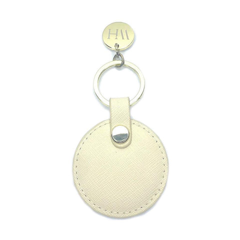AMOUR Beige Circle Key Holder
