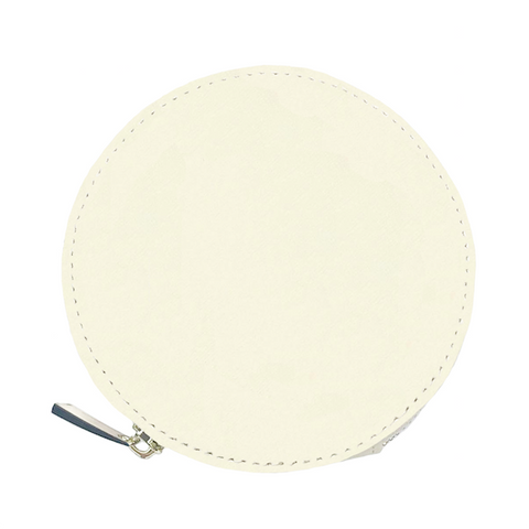 Beige Coin Purse