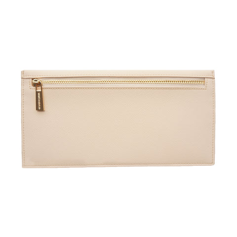 Cream Long Wallet