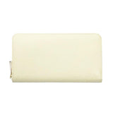 Beige Zip Wallet