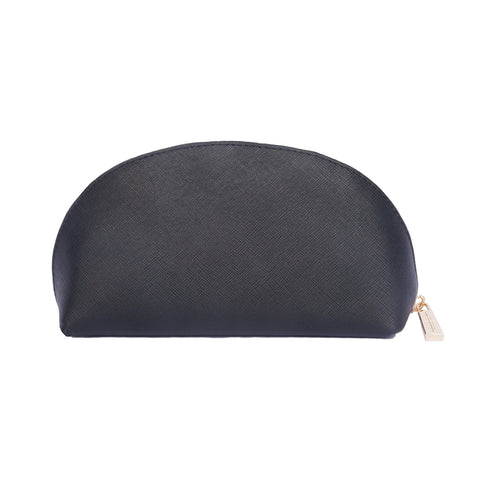 LUXE Black Dome Cosmetic Pouch