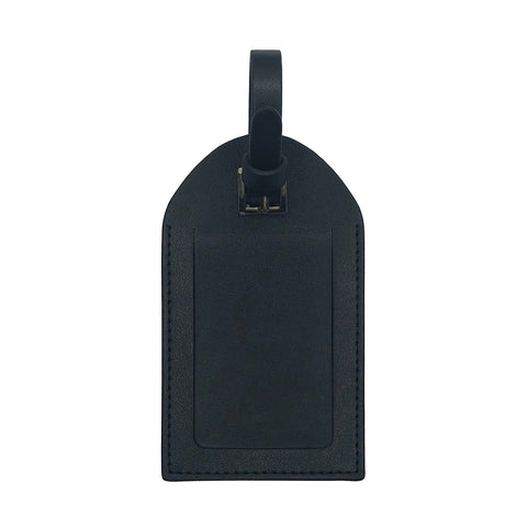 LIBERTÉ Black Luggage Address Tag