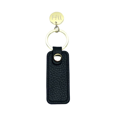 VÉRITÉ Black Pebbled Key Holder