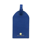 LIBERTÉ Navy Luggage Address Tag