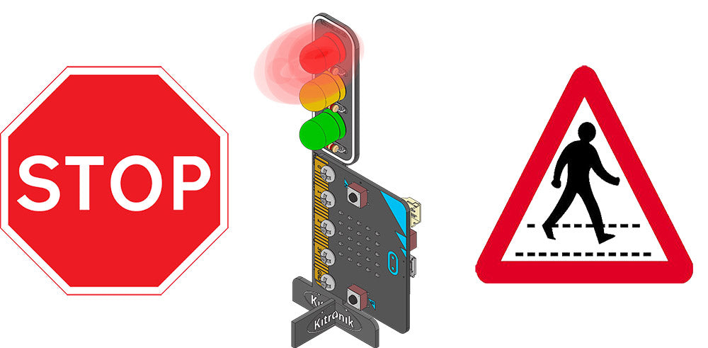 Kitronik micro:bit Traffic Light Tutorials