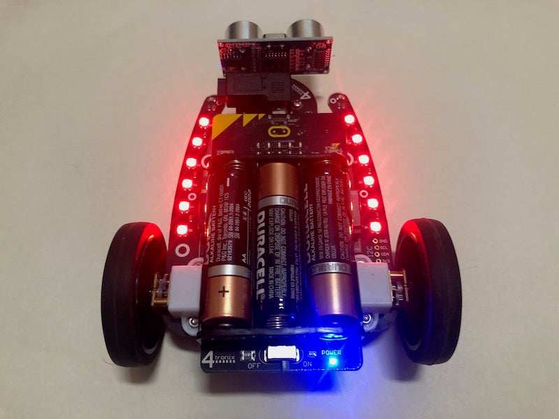 Programming the 4tronix Bit:Bot in the MakeCode PXT Editor