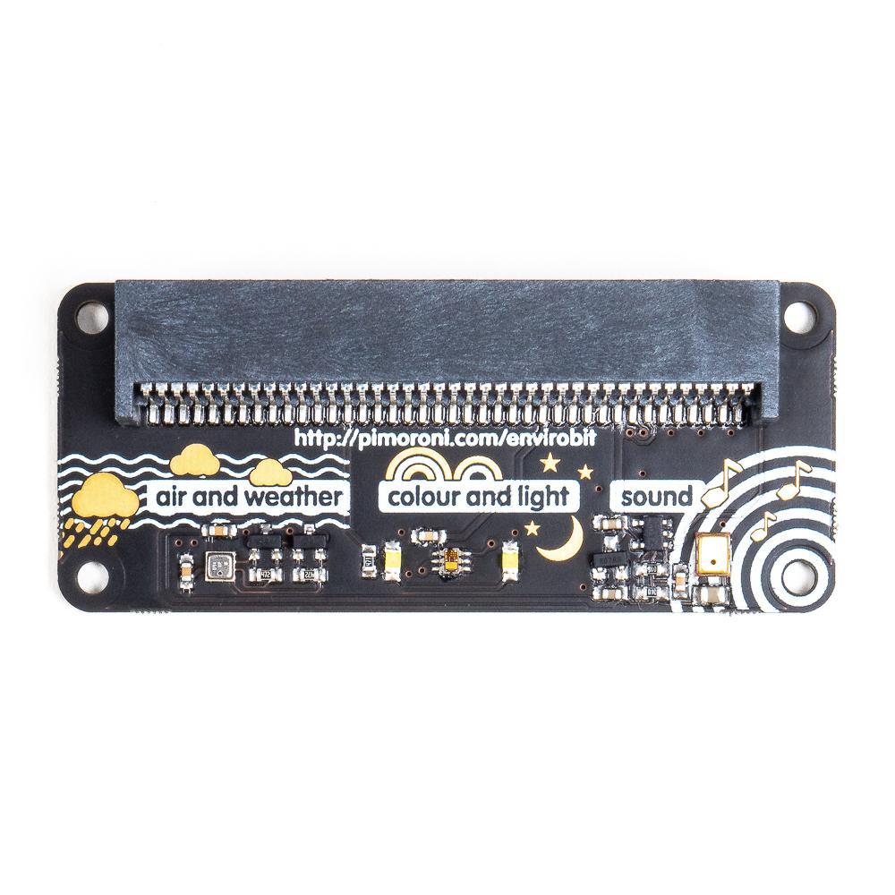New small device things from Pimoroni - enviro:bit, noise:bit, and LED shim!
