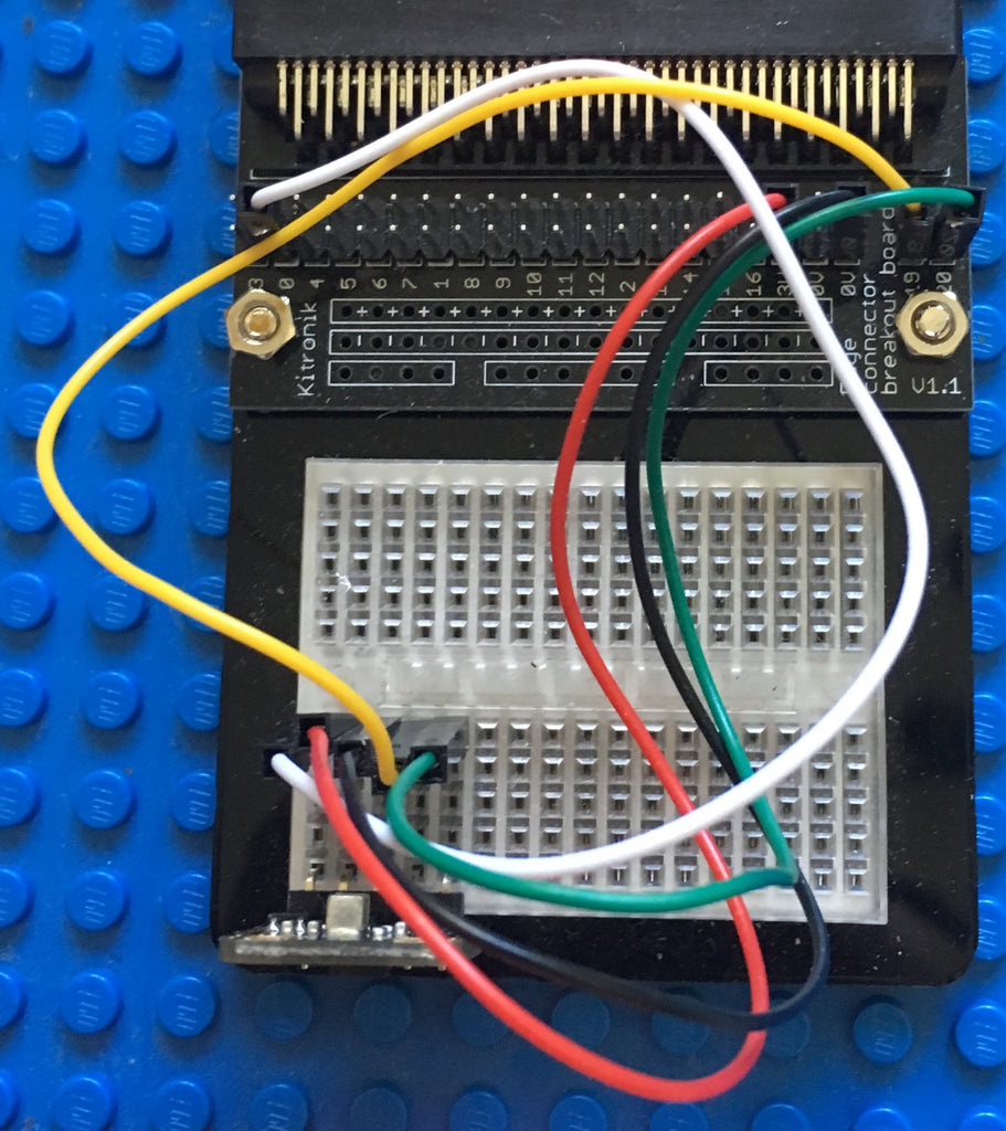 Connecting I2C Devices to the BBC micro:bit