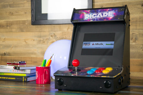 The Picade - A mini arcade and retrogaming cabinet kit with quality controls