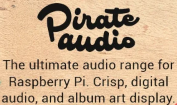 Pimoroni Pirate Audio for the Raspberry Pi