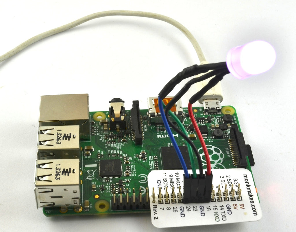 Learn Python on the Raspberry PI with GPIO Lights and Buttons