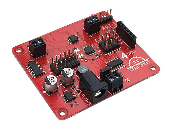 4tronix RoboHAT Robot Controller for Raspberry Pi