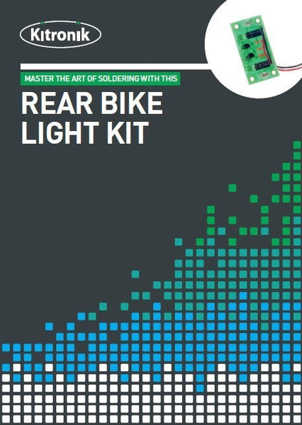 Kitronik Rear Bike Light Project Kit