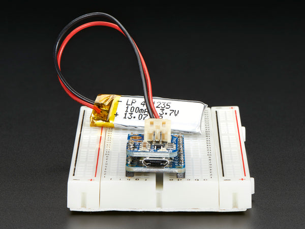 Adafruit LiIon/LiPoly Backpack Add-On for Pro Trinket/ItsyBitsy