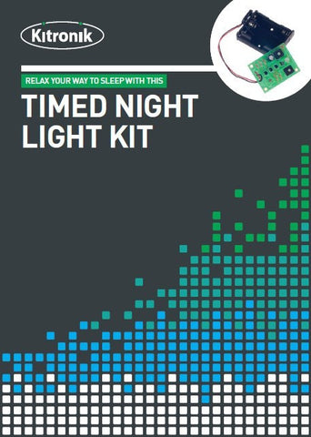 Kitronik Timed Night Light Project Kit