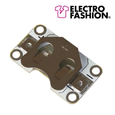 Electro-Fashion Sewable Coin Cell Holder