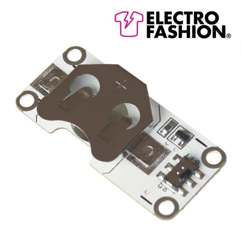 Electro-Fashion, Light Sensing Coin Cell Holder