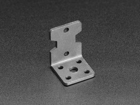 Motor Mount for TT Gearbox DC Motors - L-Bracket Type