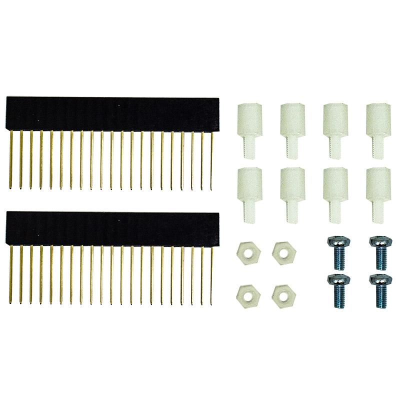 Kitronik 21 Way Stackable Pin Header & Fixings