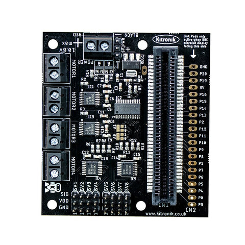Kitronik All-in-one Robotics Board for the BBC micro:bit