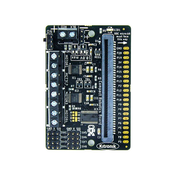 Kitronik Compact All-In-One Robotics Board for BBC micro:bit