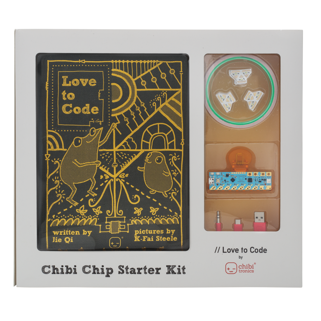 Chibitronics Love to Code Creative Coding Kit