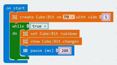 4Tronix Cube:Bit Magical RGB Cubes of Awesome (Cubebit)