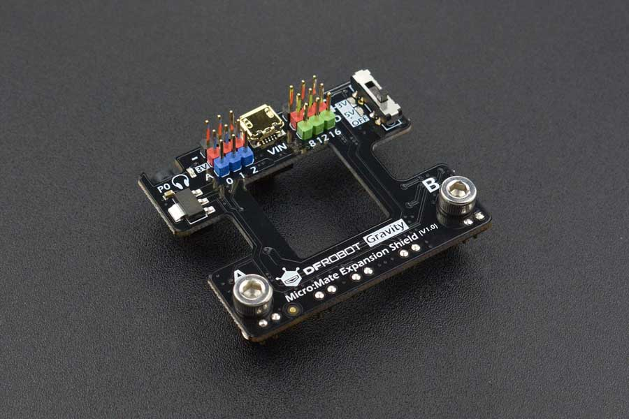 Micro:Mate - A Mini Expansion Board for micro:bit (Gravity Compatible)