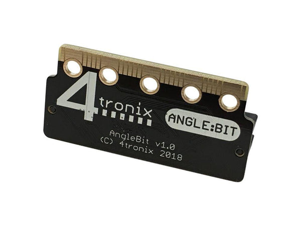 4Tronix Angle:Bit - Turn your BBC Micro:Bit by 90 Degrees (AngleBit for MicroBit)