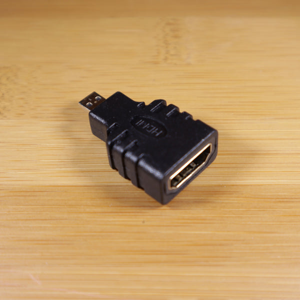 HDMI Female To Micro HDMI Male Adapter, Suitable For Raspberry Pi 4B