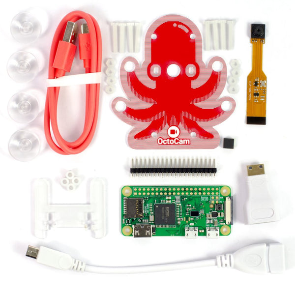 OctoCam - Pi Zero W Project Kit