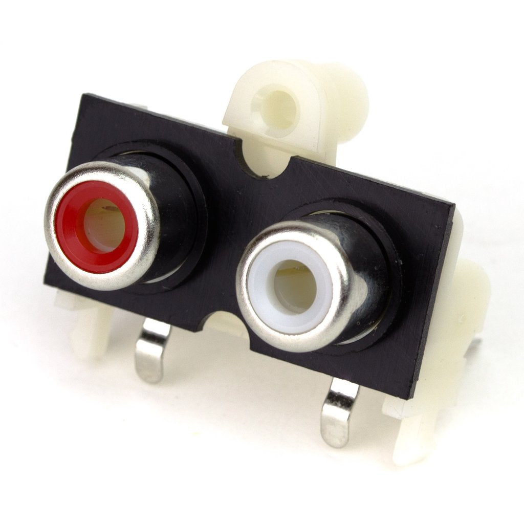 Dual Phono Connector for pHAT DAC
