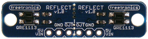 Dual-Channel I/R Reflectance Sensor