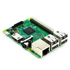 Raspberry Pi 3 with 16GB NOOBs microSD card and adapter