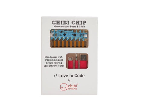 Chibitronics Love To Code Chibi Chip