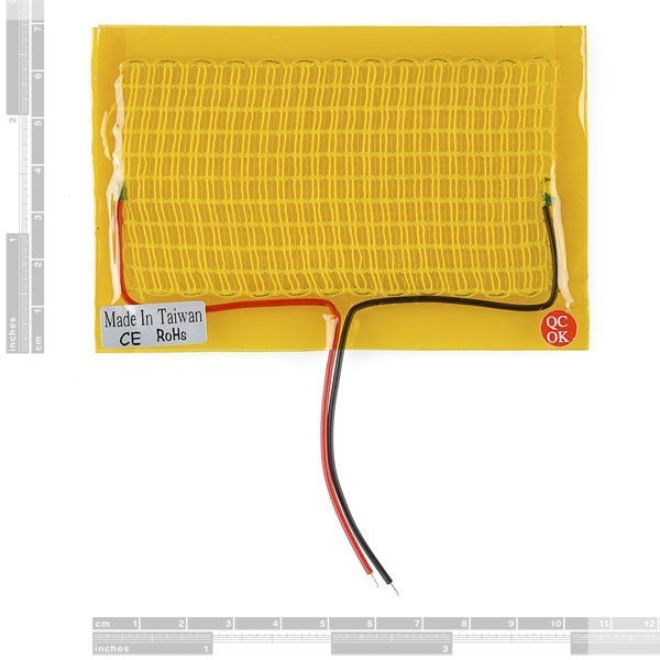 Flexible Heating Pad - 5 x 10 cm