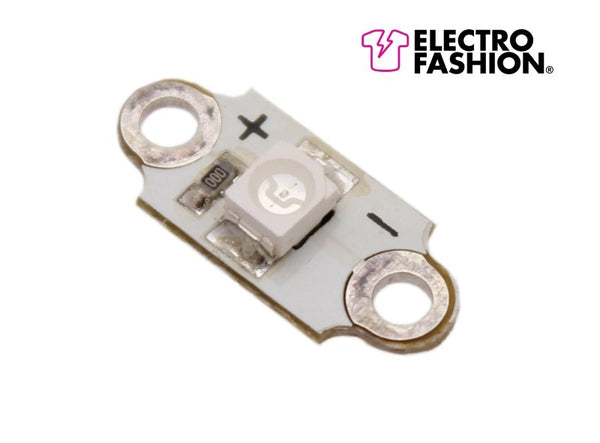 Electro-Fashion Sewable LEDs, White, pack of 10