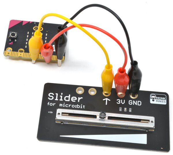 MonkMakes Slider for micro:bit