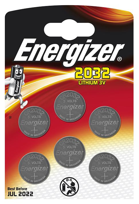 5 x CR2032 Coin Battery 240mAh