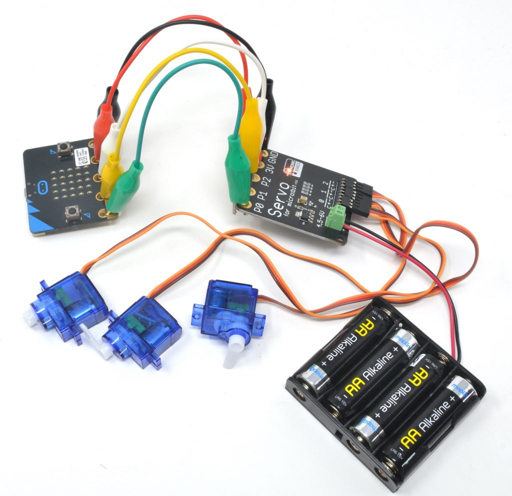 MonkMakes Servo Kit for micro:bit