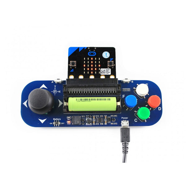 Waveshare Gamepad for the BBC micro:bit, Analog Joystick, and Buttons