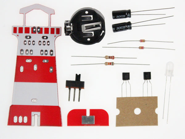 Proto-PIC Lighthouse Beginners Soldering Kit