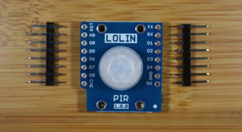 WEMOS LOLIN PIR Shield V1.0.0 for LOLIN D1 mini passive infrared sensor module