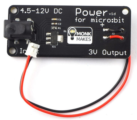 MonkMakes Power for BBC micro:bit