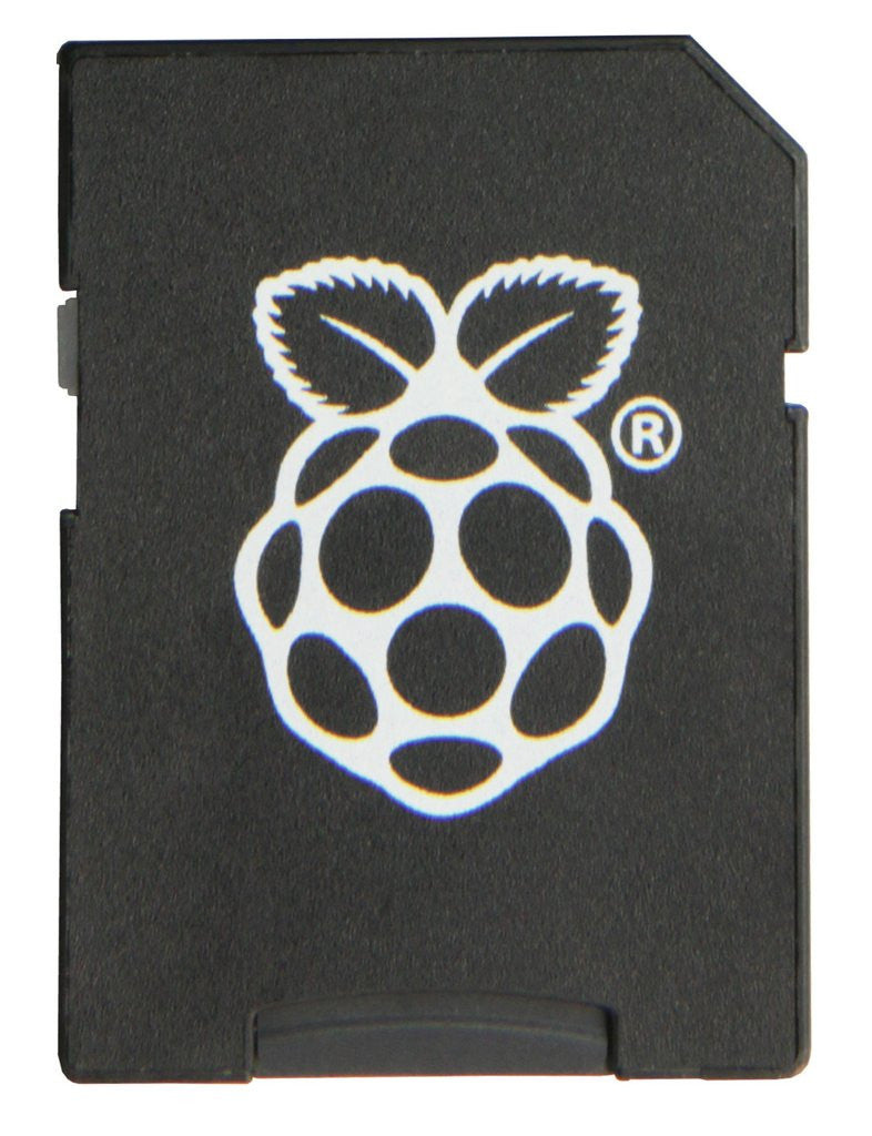 Raspberry Pi NOOBS 8GB microSD Card + SD Card Adaptor