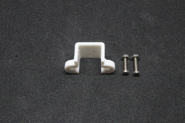 Micro Metal Gearmotor Bracket Pair - White
